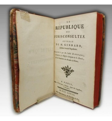 LA REPUBLIQUE DES JURISCONSULTES (1768)